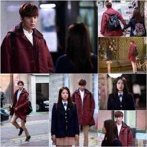 Lee Min Ho And Park Shin Hye Official Still for The Heirs