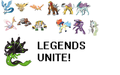 Legend Walllpaper - legendary-pokemon photo