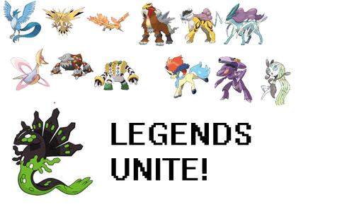 Pokémon leggendari wallpaper titled Legend Walllpaper