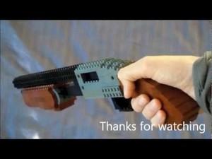 Lego shotgun