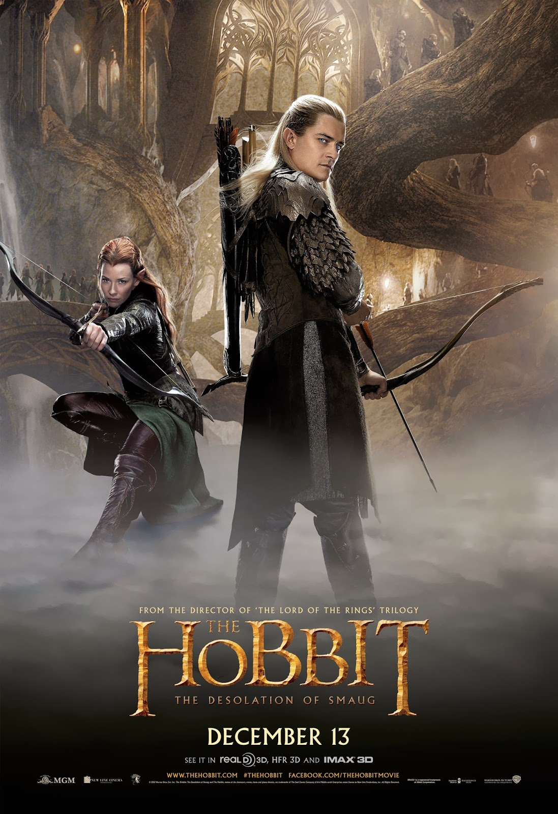 The Hobbit, Movies, Legolas, Evangeline Lilly, Orlando ... |The Hobbit The Desolation Of Smaug Legolas