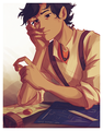 Fortune Cookie - leo-valdez fan art