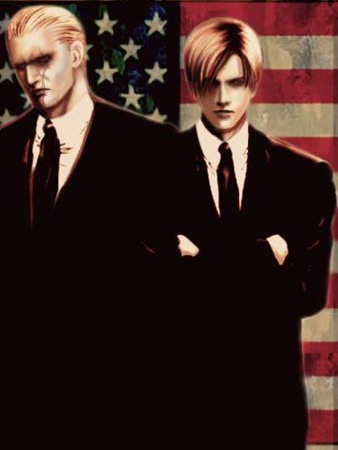 Leon Kennedy wallpaper containing a business suit, a suit, and a three piece suit titled Leon S. Kennedy