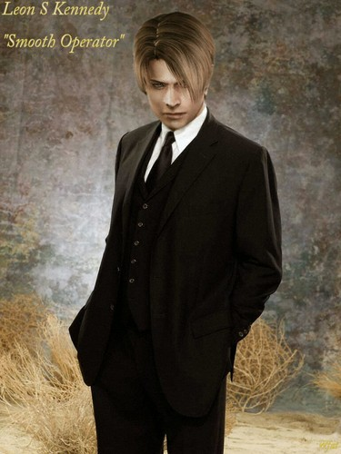 Leon Kennedy 바탕화면 containing a business suit, a well dressed person, and a suit entitled Leon S. Kennedy