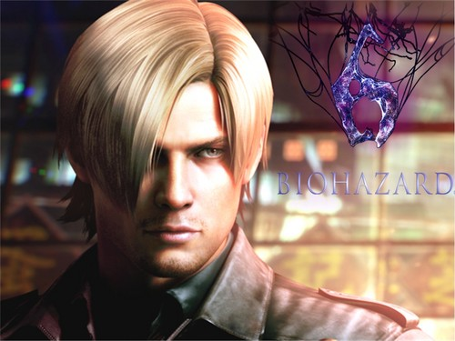 Leon Kennedy 바탕화면 probably containing a portrait titled Leon S. Kennedy