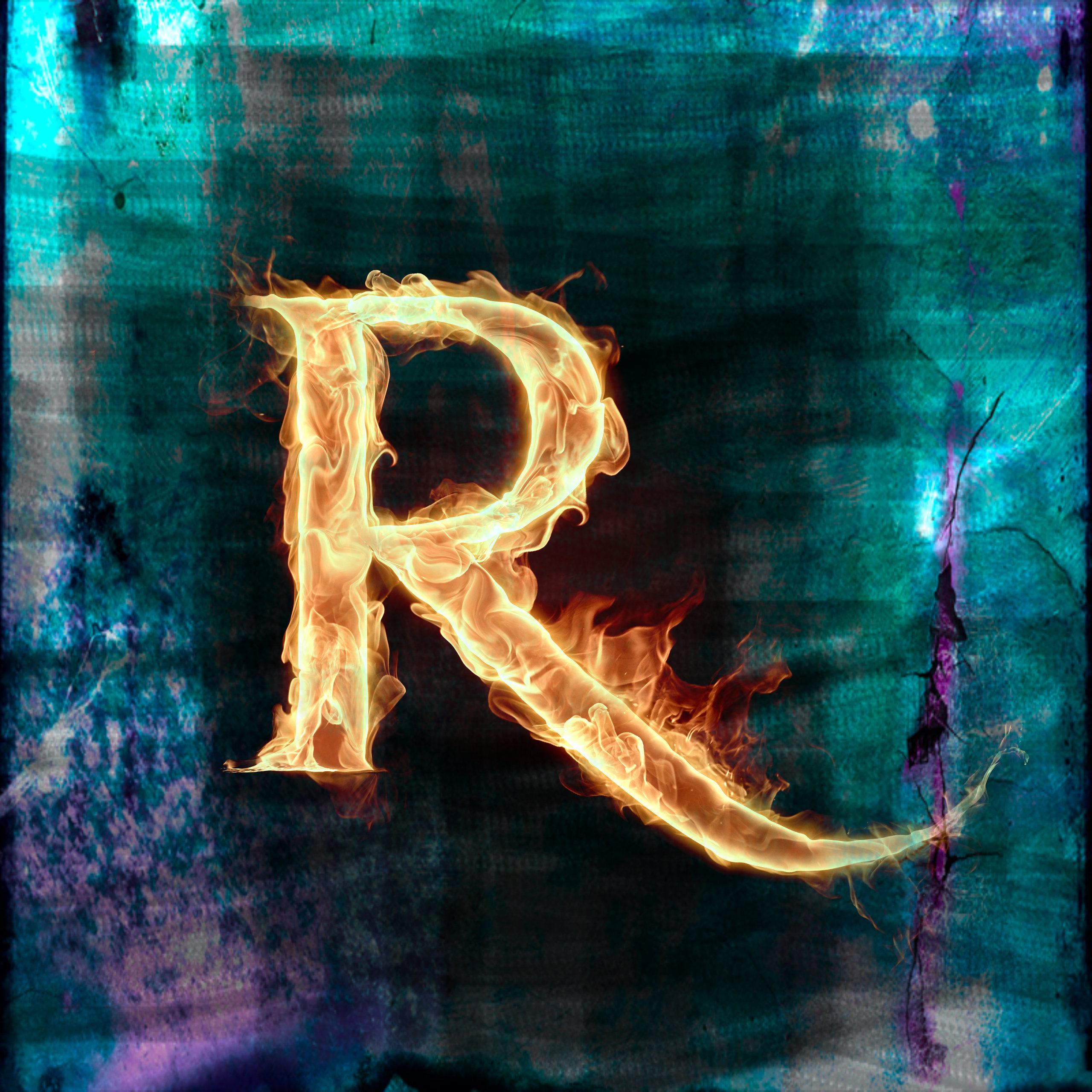 Letter R Art The alphabet letter r