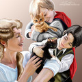 Loki and Frigga - loki-thor-2011 fan art