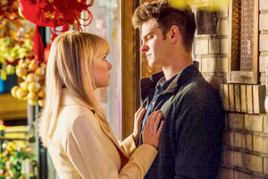 Peter and Gwen in The Amazing Spider-Man 2