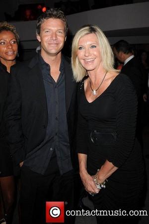 Matt Passmore and Olivia Newton-John
