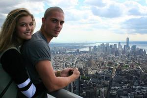 Max George and Nina Agdal