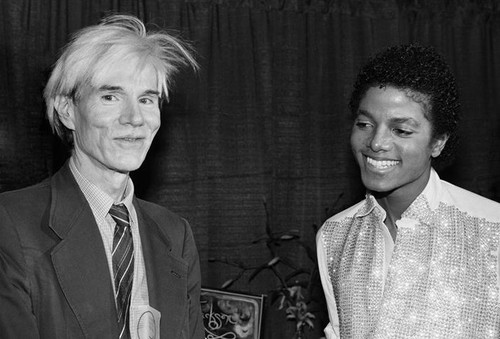 Michael And Andy Warhol