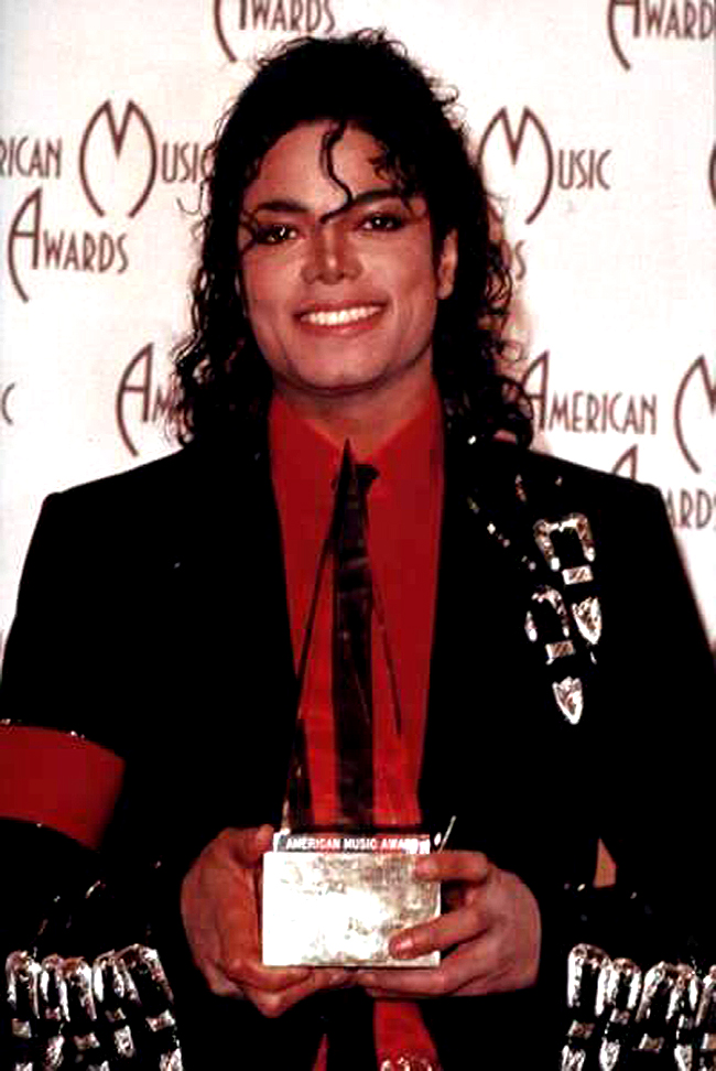Backstage At The 1989 American Музыка Awards