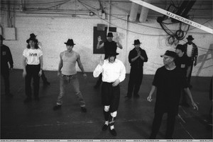 Dance Rehearsal For The 1993 American Muzik Awards