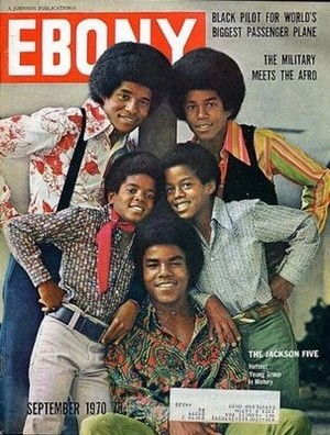 Jackson 5 On The Cover Of The September 1970 Issue Of EBONY Magazine