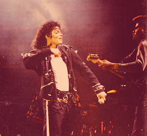 On Stage (Bad Tour)