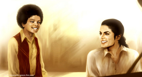 Michael Jackson kertas dinding probably containing a well dressed person and a koktel dress called Michael
