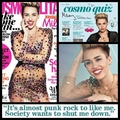 Cosmopolitan Magazine - miley-cyrus photo