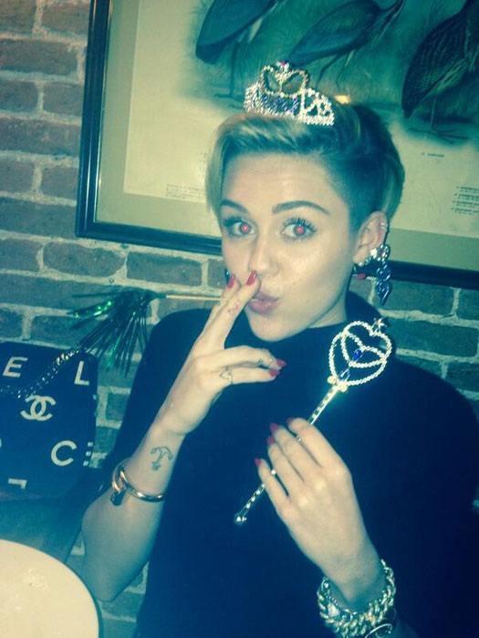 Miley's 21st birthday party
