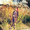 "Minzy's Instagram Update: Is this a painting? Or is this autumn?"" (131020) - 2ne1 photo"
