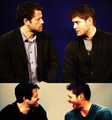Misha & Jensen - misha-collins fan art