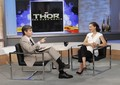 natalie-portman - Good Morning America on ABC, promoting Thor: The Dark World (November, 7th, 2013) wallpaper