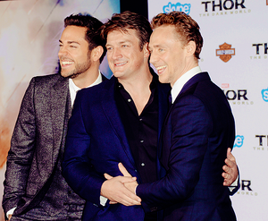 Nathan at Thor 2 premiere,L.A