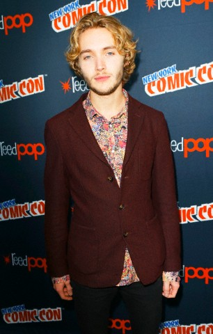 Toby Regbo wallpaper containing a business suit titled New York Comic Con '13