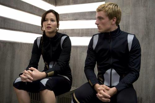 Catching Fire wallpaper with a business suit called New stills