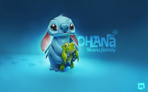 disney crossover achtergrond probably with a diving suit entitled Ohana