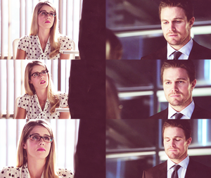 Oliver and Felicity <3