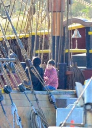 **•Gina & Henry On The Jolly Roger•**