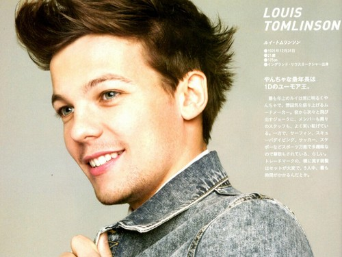 Louis Tomlinson Wallpaper: One Direction Images Louis Tomlinson ♡ HD Wallpaper And