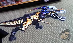 Optimus Prime Riding Grimlock