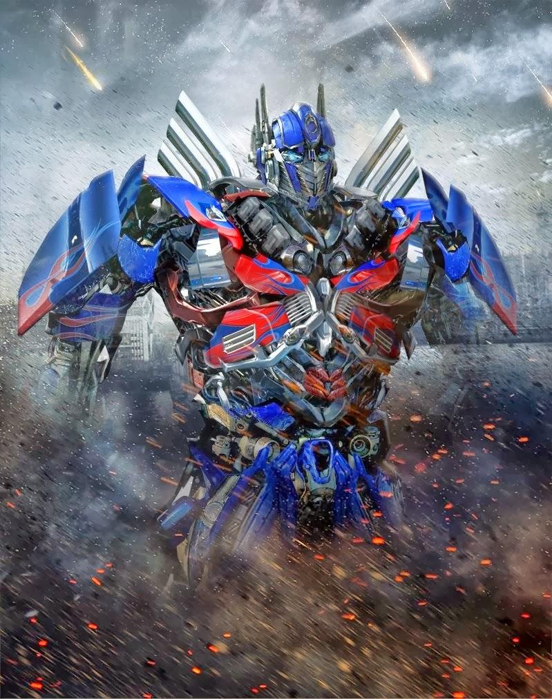 Optimus Prime Robot Mode Transformers 4 Foto