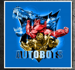 Optimus Prime and Bumblebee Robot Mode and Grimlock Alternate Mode