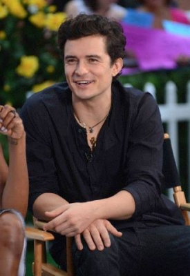 Orlando Bloom at Good Morning America