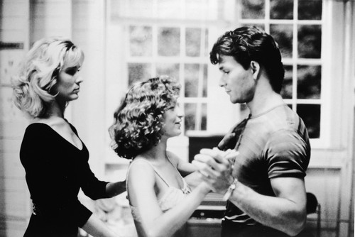 Patrick Swayze wallpaper probably with a bouquet titled Dirty Dancing