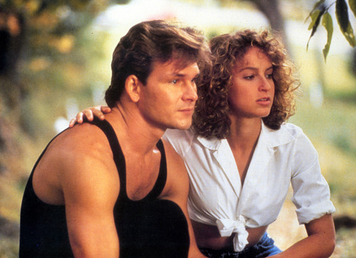Patrick Swayze wallpaper probably with a portrait called Dirty Dancing