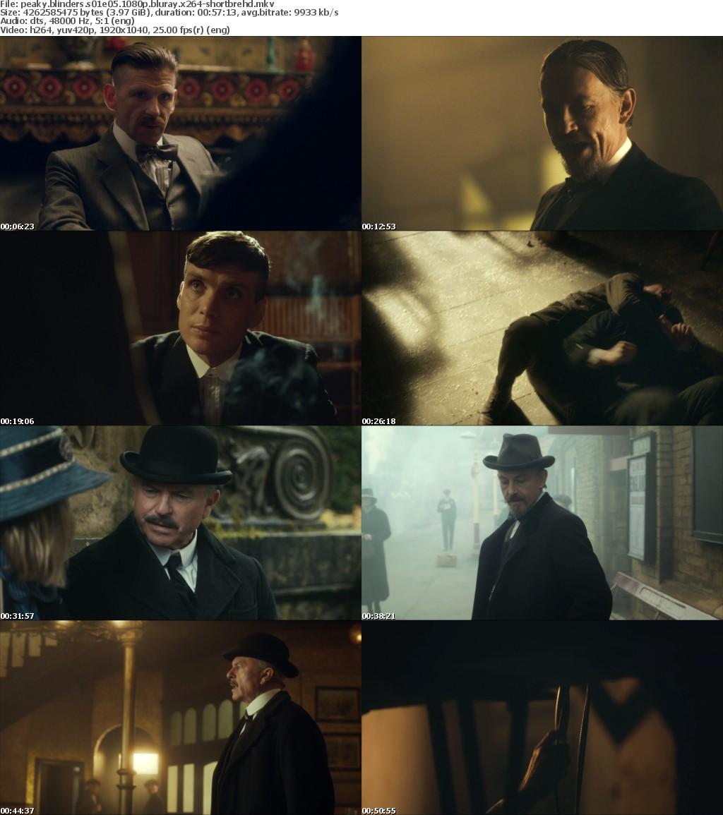 Peaky Blinders screencap collage