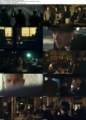 Peaky Blinders screencap collage