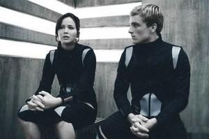 Peeta and Katniss ☺