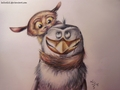 I have a beard! :D - penguins-of-madagascar fan art