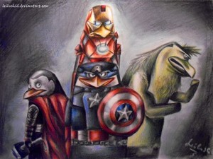 The Avengers of Madagascar
