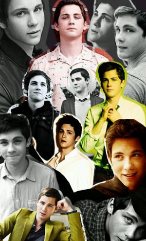 Logan Lerman , Collage