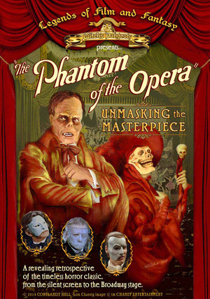 Phantom Of The Opera - Unmasking The Masterpiece (2013) DVD Cover