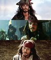 Captain Jack Sparrow - pirates-of-the-caribbean fan art