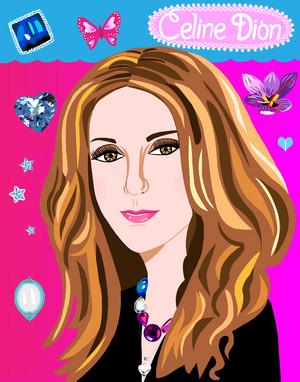 Portrait of Celine Dion