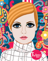 Portrait of Twiggy