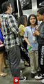 Prince and Blanket Jackson visiting the Comikaze Expo at the Los Angeles Convention Center {Nov 2} - blanket-jackson photo