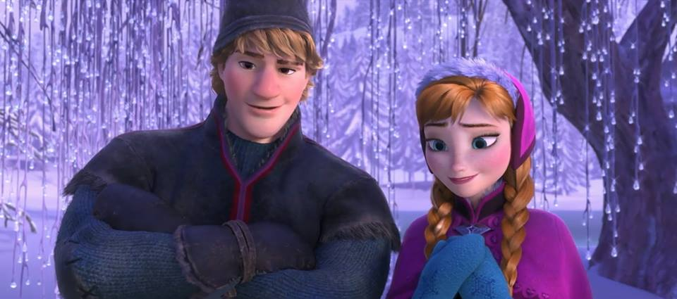 Frozen wallpaper anna and kristoff